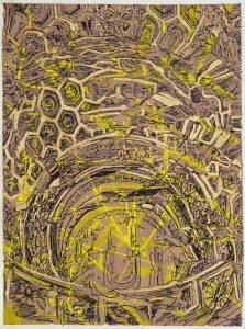 Carta inchistro,foglia d'oro 50x70cm.pg