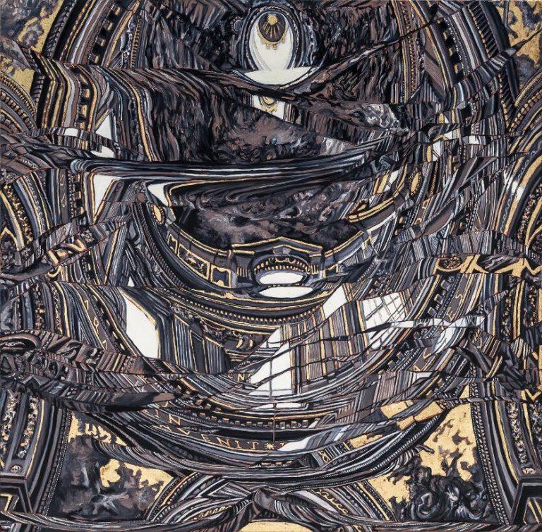Lo Re 10 olio su tela 64x65cm