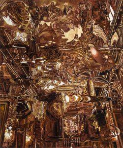 Lo Re 8 olio su tela 98x110cm