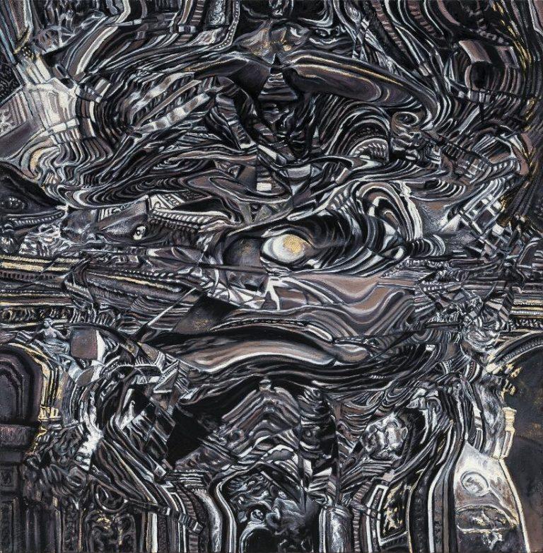 Lo re 2 olio su tela 64x65cm